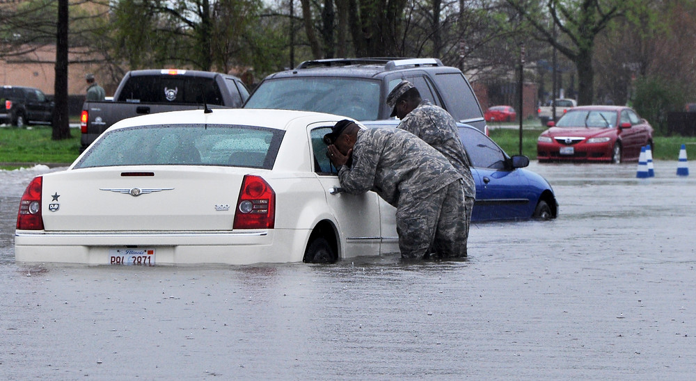 Could we be in for more frequent flooding like this one at Scot Air Force base in Illinois in 2013