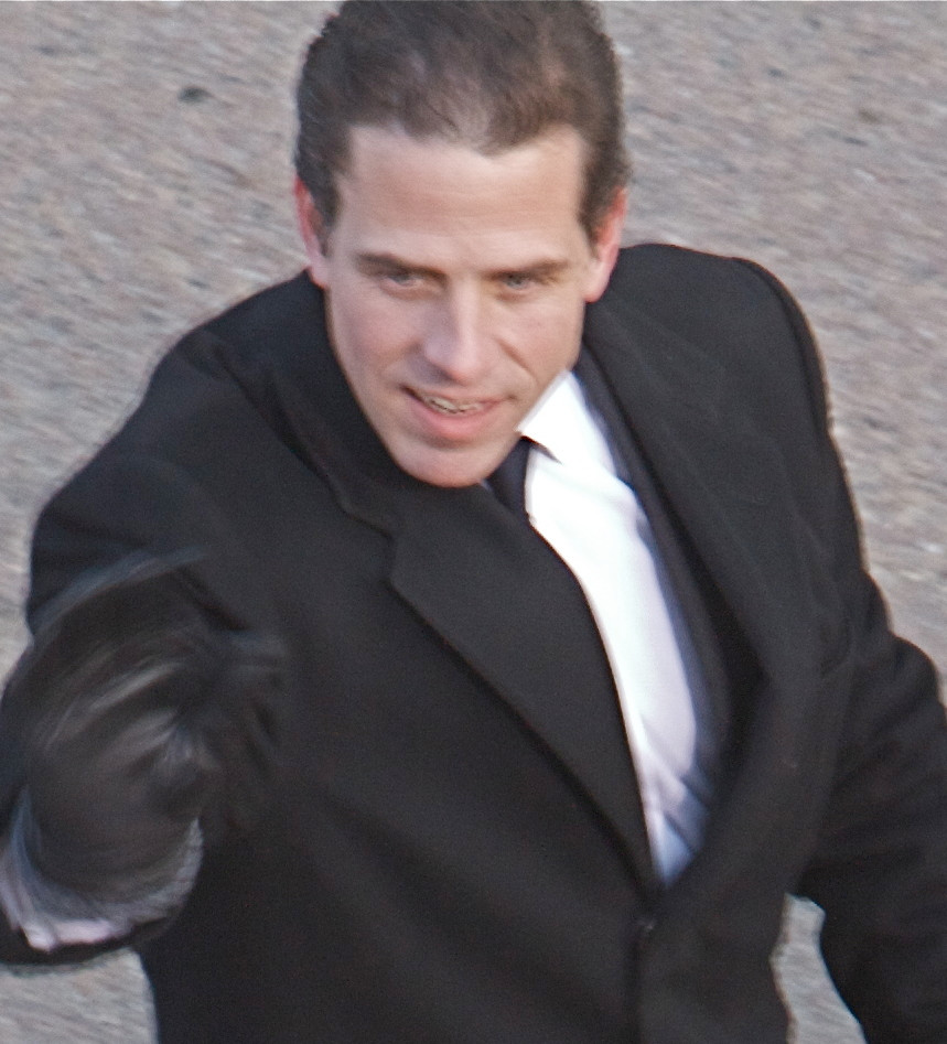 Hunter Biden, son of Vice President Joe Biden photo from wikimedia