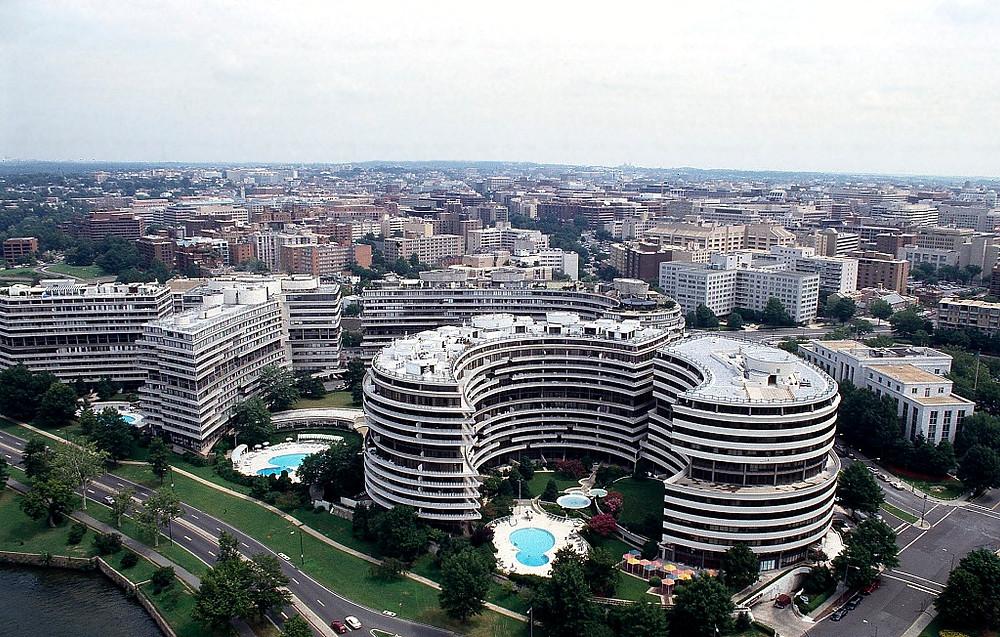 Watergate hotel, condominium and office building complex Washington, DC
