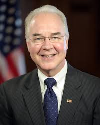 Tom Price current Sec. of HHS, former congressman, a medical doctor and Orthopedic surgeon