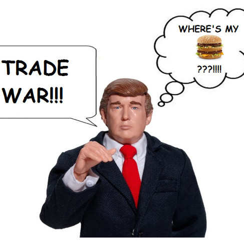 Trump running into trade is good, don't mess with it