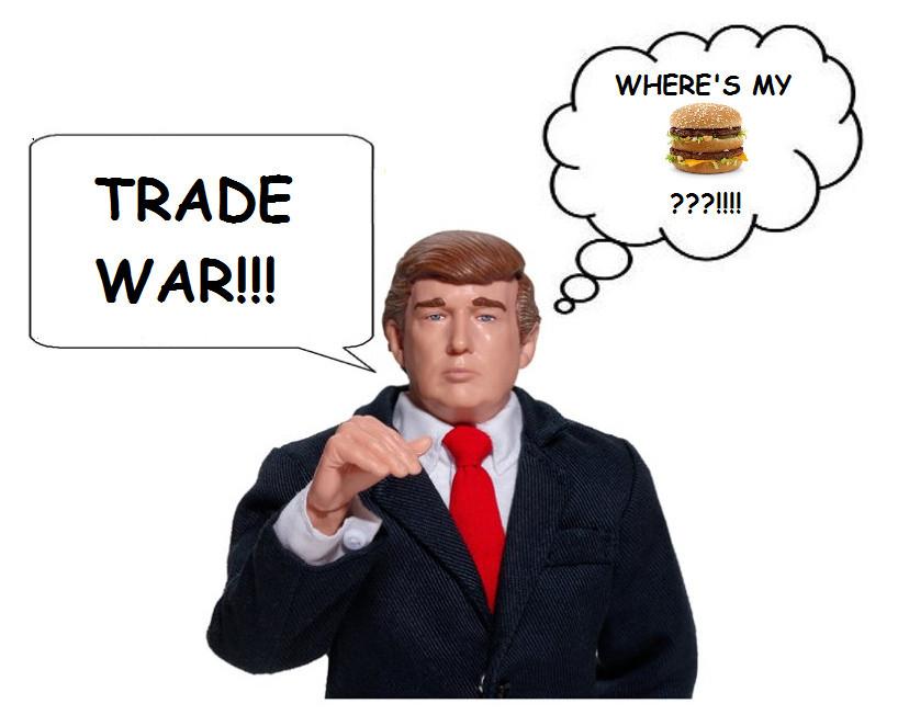 Trump trade war image from Flickr.com