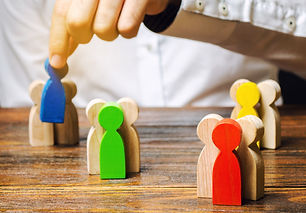 groups-multicolored-wooden-people-busine