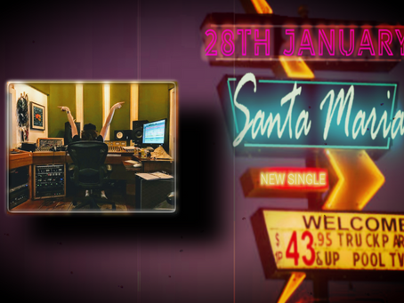 Check out the teaser for the New Single - Santa Maria...coming soon...