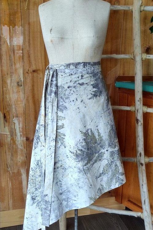 Asymmetrical Wrap Skirt - Large