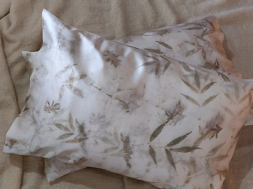 Silk Pillowcases - set of 2 - Lavender & Ash