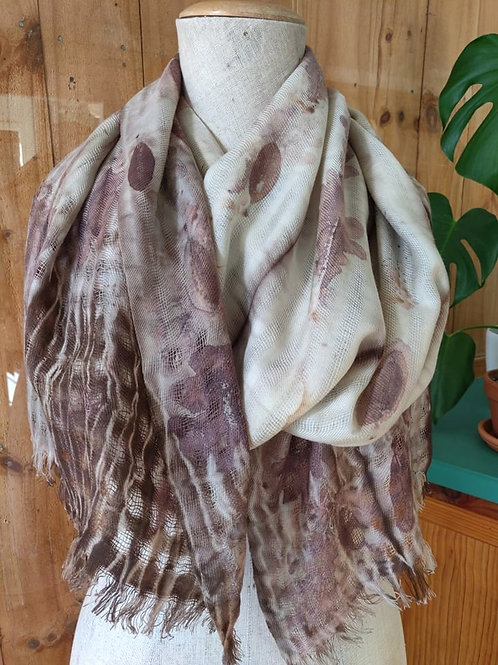 Climate Change Silk & Wool Scarf - Extra Winter Warmth