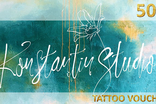 $500 Tattoo Voucher