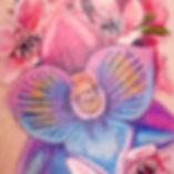 Flower Tattoo by Jake in Shadow Tattoo