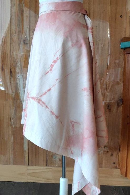 Asymmetrical Wrap Skirt - Medium
