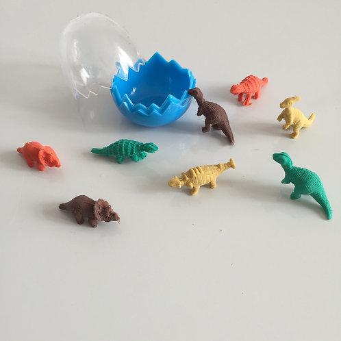 Mini gommes dinosaures