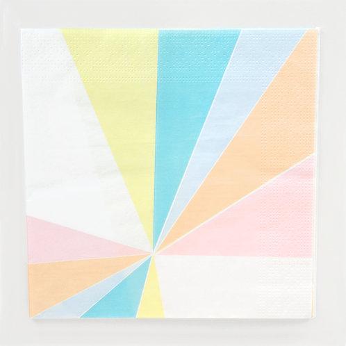 """Serviettes """"my little day"""" pastel"""