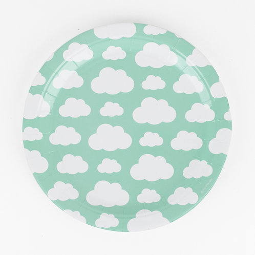 "Assiettes Nuages ""my little day"""