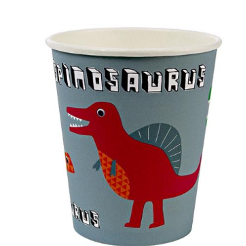 "Gobelets ""Dinosaures""  meri meri"