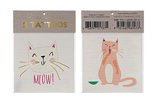 Tatouages meri meri meow