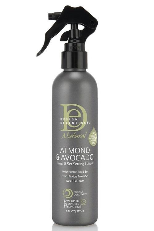 Almond & Avocado Twist & Setting lotion