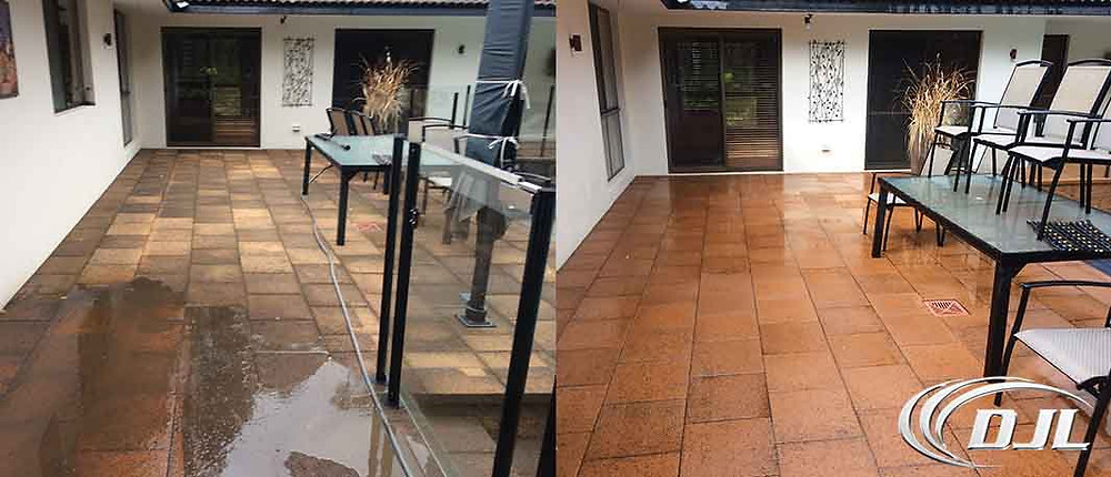 High pressure cleaning Perth
