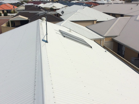 How To Clean A Colorbond® Roof With A High Pressure Cleaner