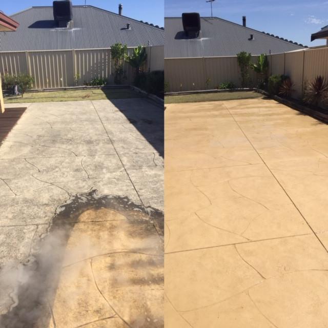 Liquid limestone high pressure cleaning
