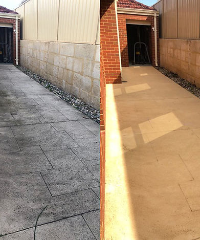 liquid limestone cleaning perth-before-a