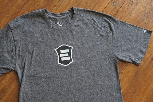 EG Charcoal Cotton Short Sleeve T-Shirt