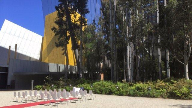melbourne garden weddings exhibition building
