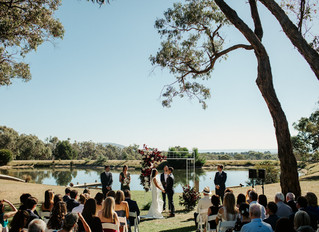 Fun and lighthearted wedding celebrant Melbourne - Benn Stone