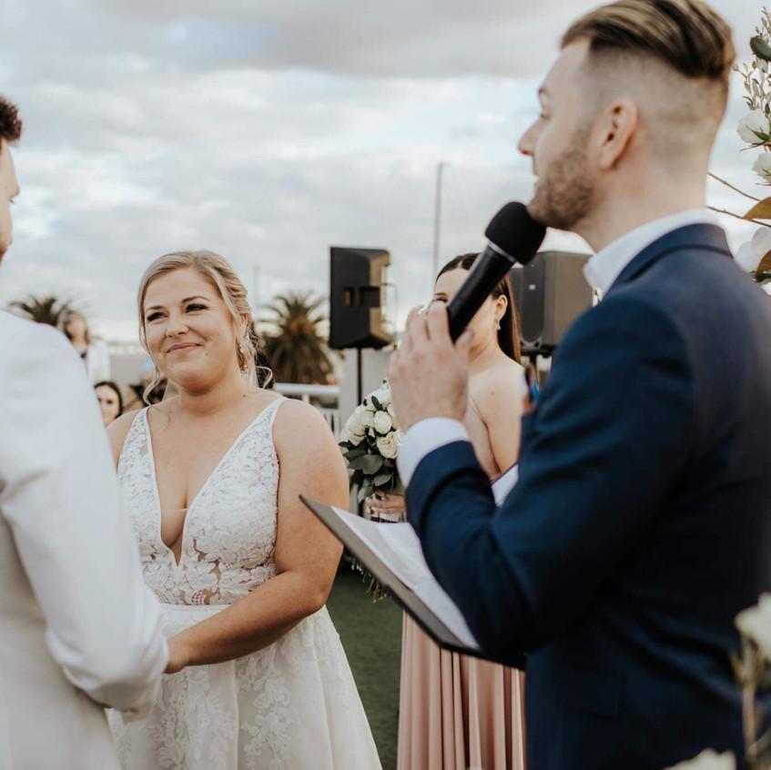 st kilda wedding officiant
