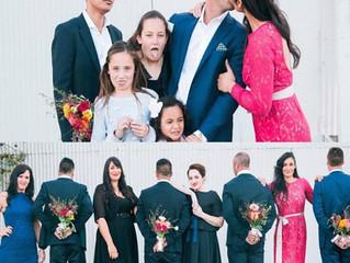 It's a family wedding!