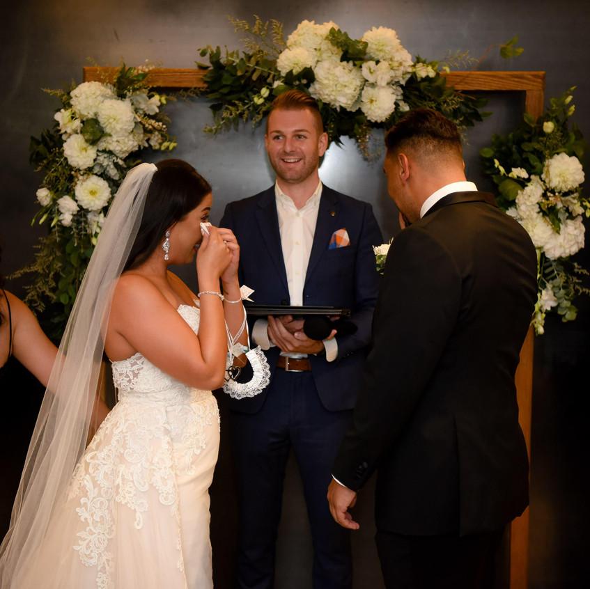 fun modern young wedding celebrants