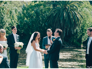 Royal Botanical gardens wedding Melbourne
