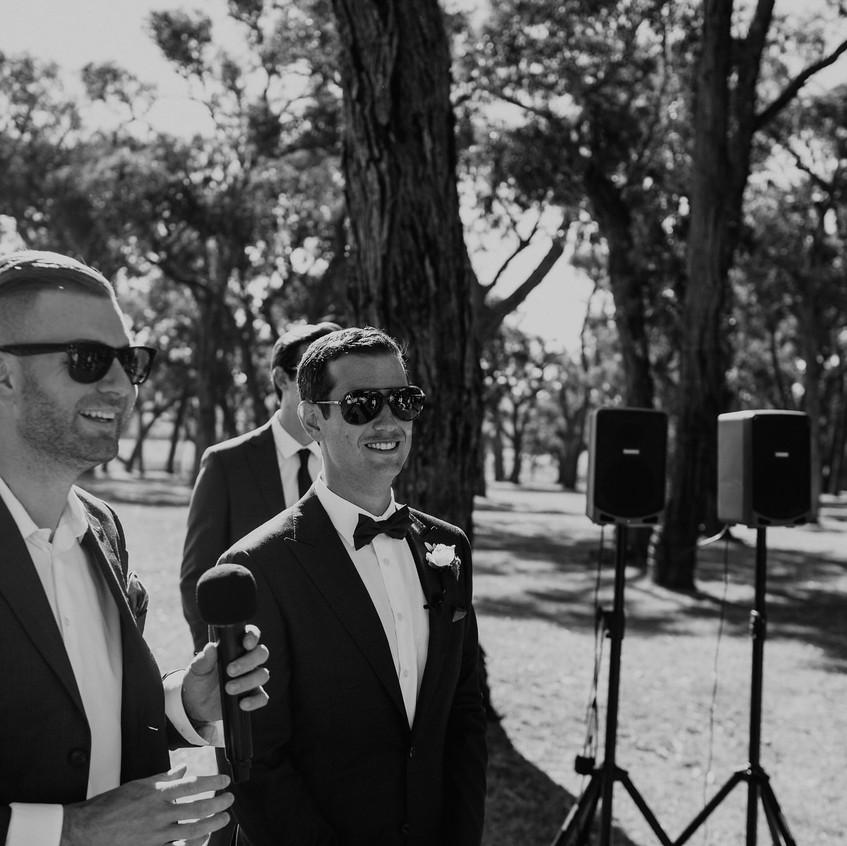 benn stone cool young wedding celebrant