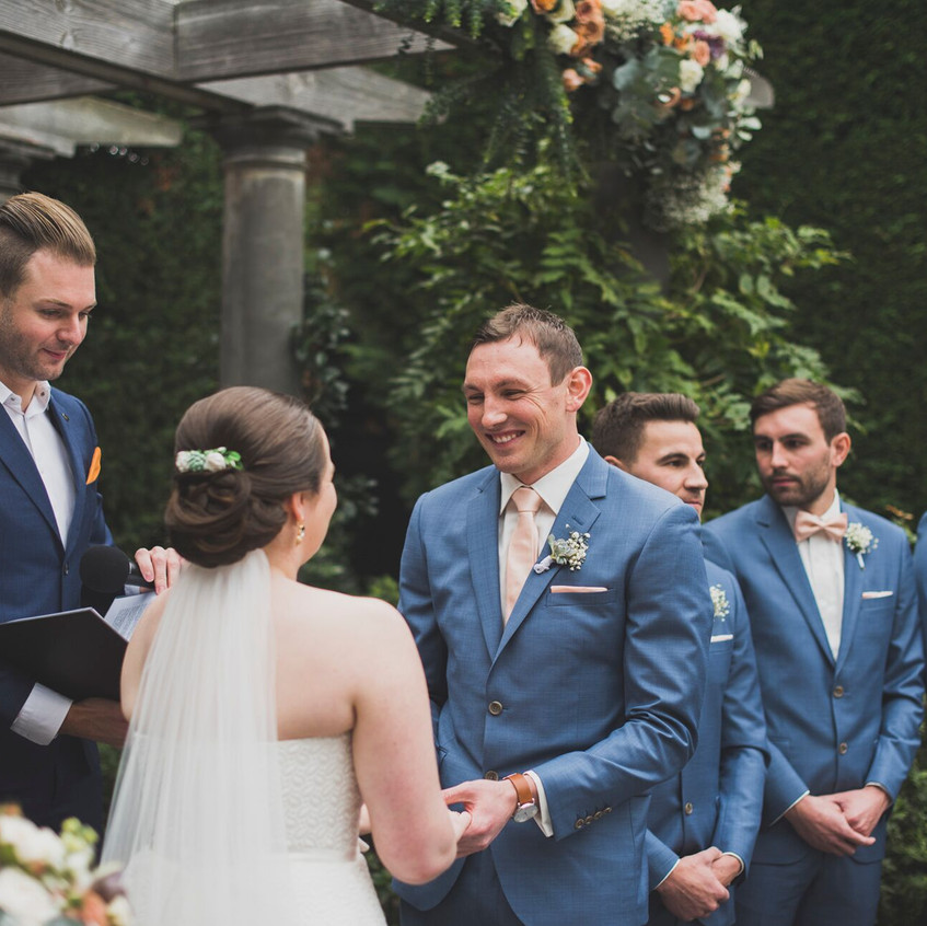 relaxed light hearted weddings melbourne
