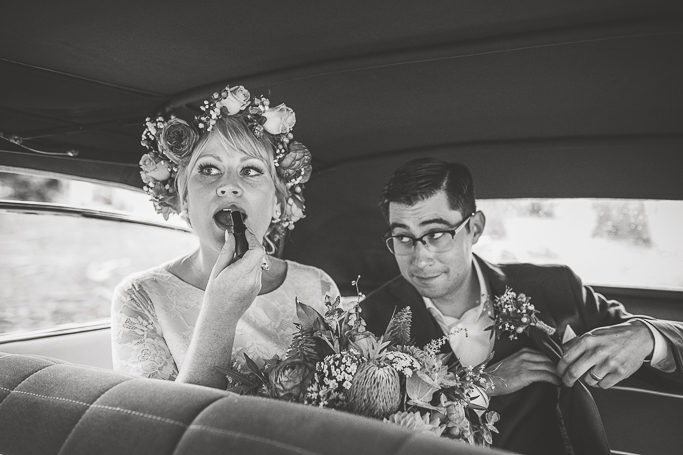 retro wedding celebrant melbourne benn stone