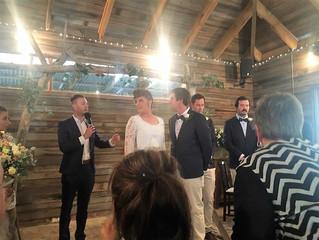 Wedding Celebrant Melbourne Gum Gully Farm