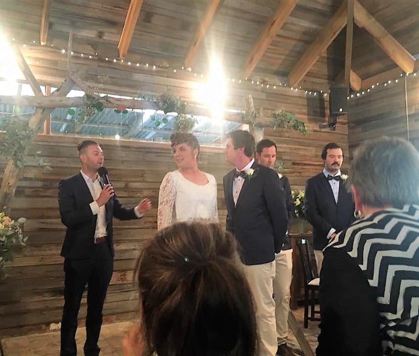 benn stone wedding celebrant melbourne fun