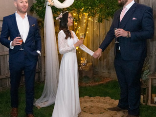 Benn Stone Awesome Wedding Backyard Specialist Celebrant!
