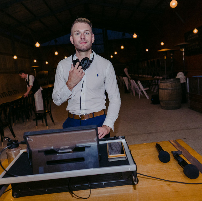 celebrant MC DJ melbourne