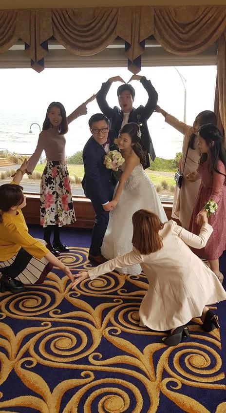 fun wedding celebrant male