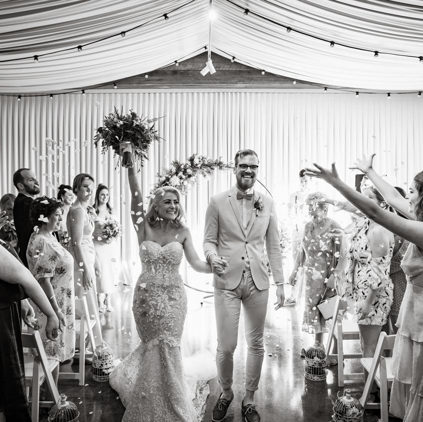 fun relaxed ringwood wedding celebrant