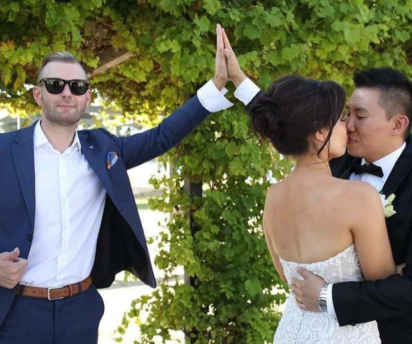 hilarious wedding celebrants