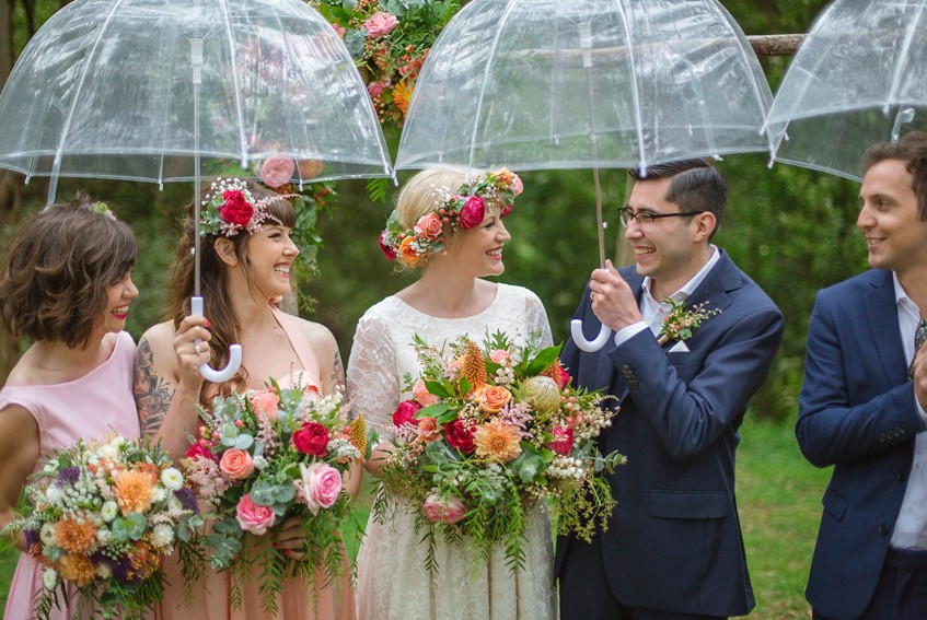 forest wedding melbourne cool lighthearted fun celebrants