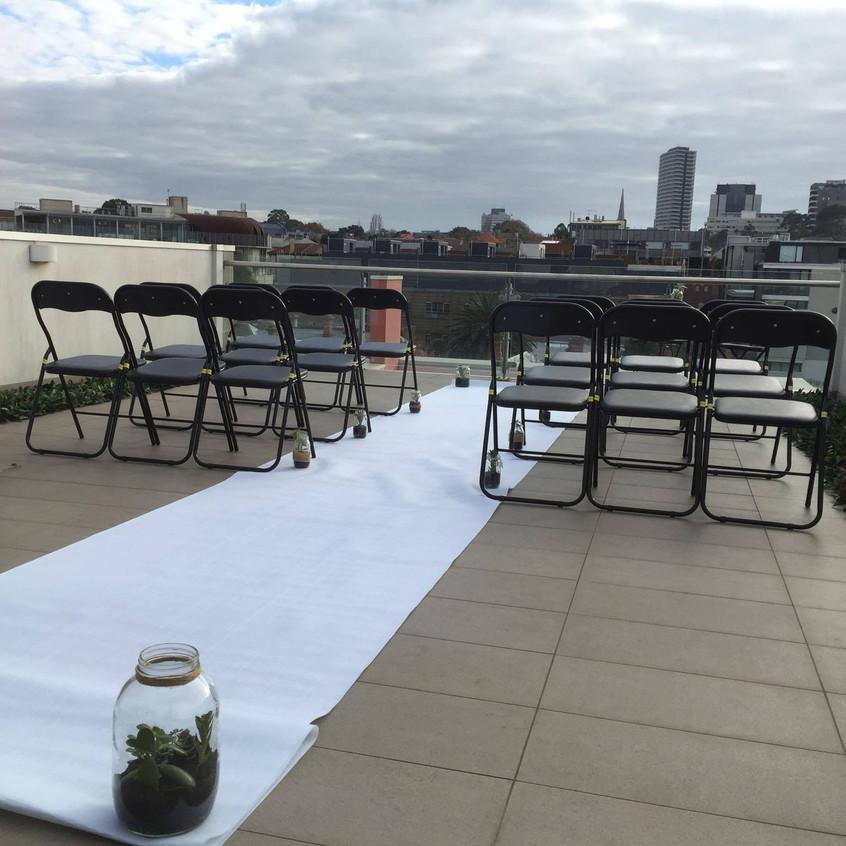 fun relaxed wedding venues Melbourne celebrants male Benn Stone