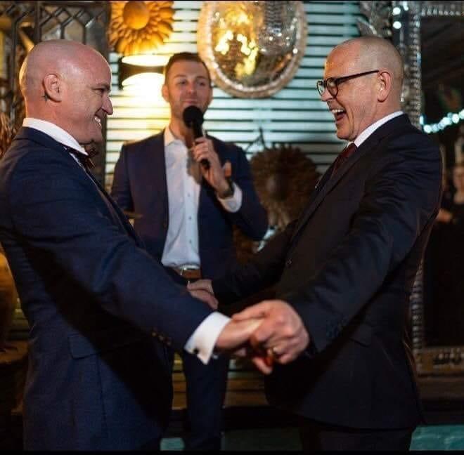 Same sex wedding celebrant Melbourne