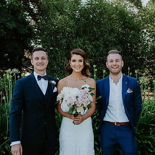 same sex weddings melbourne young male celebrant