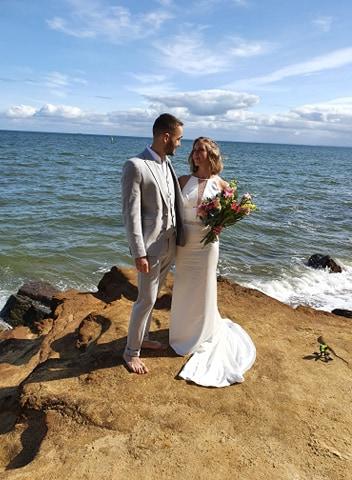 benn stone small wedding