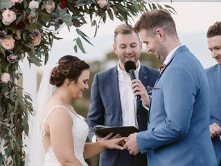 Melbourne's most chilled relaxed male wedding celebrant