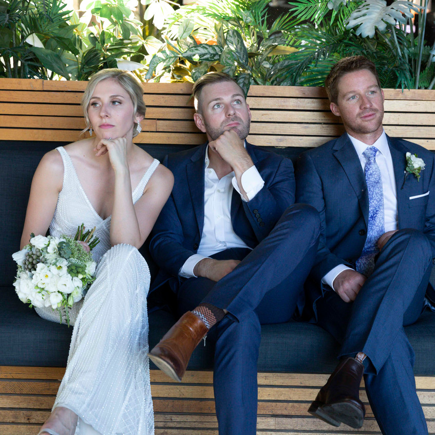 warm cool relaxed melbourne wedding cele