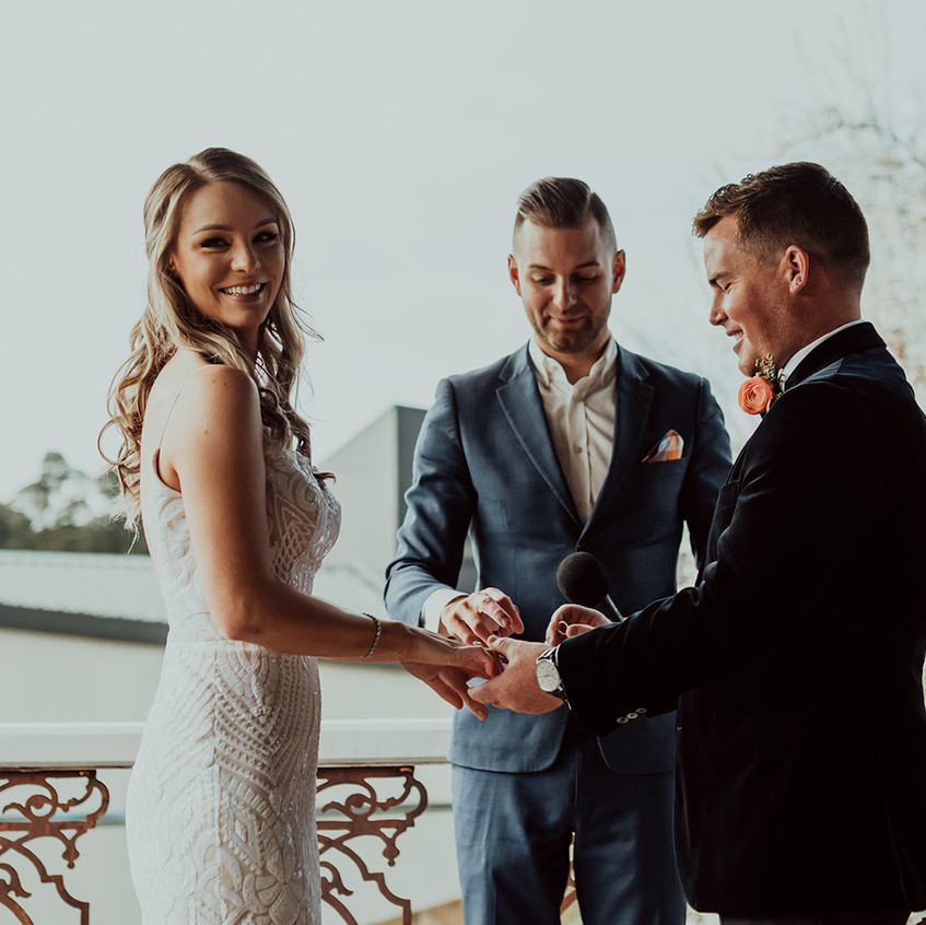 cool relaxed wedding celebrants