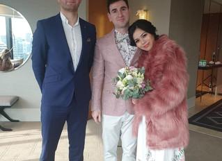 Lock-Down  Melbourne Weddings Specialist- Benn Stone, Melbourne Cityside Celebrant